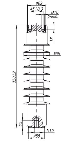 изолятор опорный оск 35